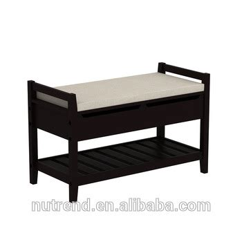 shoe bench with cushion new creative wooden large shoe bench display cabinet with
