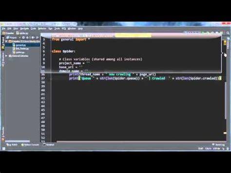 tutorial web crawler java python web crawler tutorial 11 crawling pages youtube