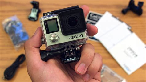 Gopro 4 Black New new gopro 4 black edition unboxing on initial review gopro hero4
