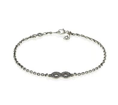 Pandora Symbol Of Infinity Clear Cz P 97 symbol of infinity bracelet pandora