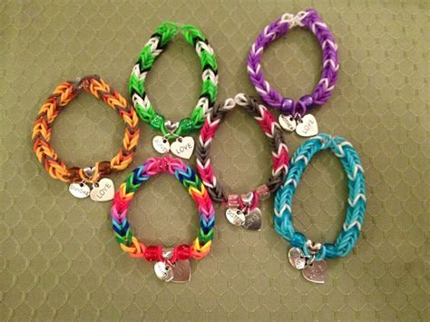 Rainbow Loom Bands Charm Specialty Charm Rainbow Loom Bracelets See More At Www