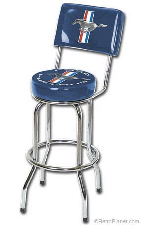 ford bar stool with backrest image of ford mustang bar stool with backrest outdoor