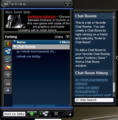 gamer chat room how to join xfire chat rooms rise of the witch king gamereplays org
