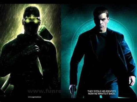theme music bourne identity splinter cell vs bourne identity tension mix up youtube