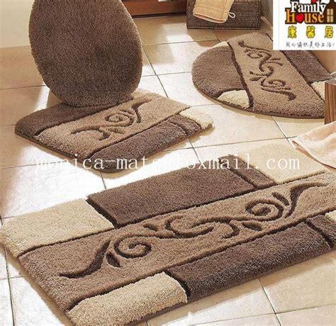Bath Mat Sets Toronto 5 Pieces Microfiber Bath Rug Set Buy Find Complete