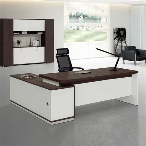 office furniture computer table 2017 new design eco friendly wooden office computer table
