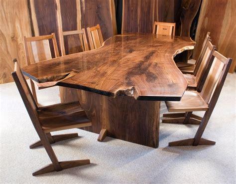 chairs for live edge table live edge furniture dumond s custom furniture