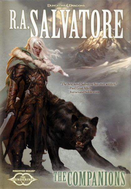 the companions the sundering r a salvatore the companions 9780786963713 on
