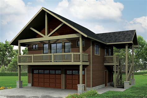 two story garage plans with apartments plan 72768da garage with apartment and vaulted spaces