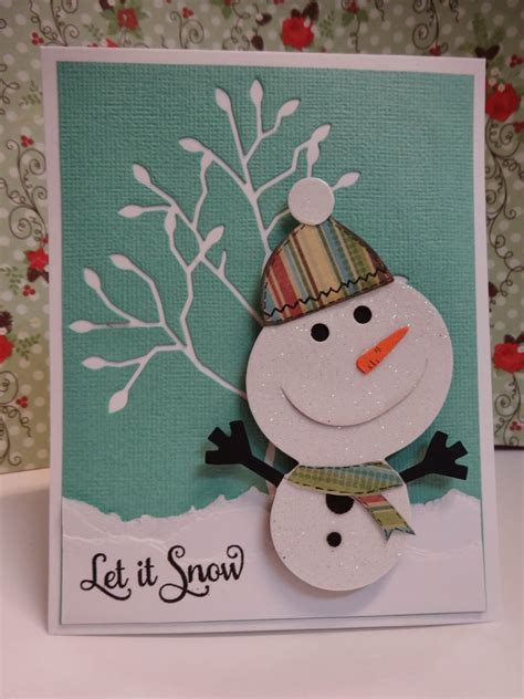 snowman cards to make everlasting ink 2013 cards