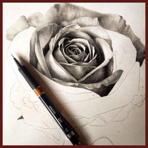 imagenes de rosas en 3d a lapiz dibujos a lapiz de rosas en 3d archivos imagenes de rosa