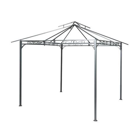 struttura gazebo struttura gazebo fogo antracite struttura tela e
