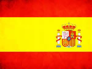 spain colors spain flag in powerpoint backgrounds ppt backgrounds