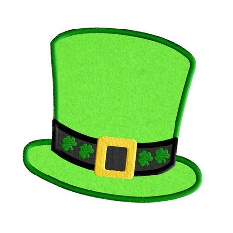 How To Make A Leprechaun Hat Out Of Paper - luck o the applique