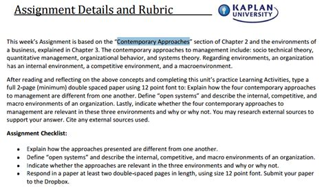 essay assignment unit 2 docx type format 1 in the rst 2 page paper on open systems and quot contemporary approaches