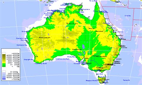 topographic maps australia aussie world