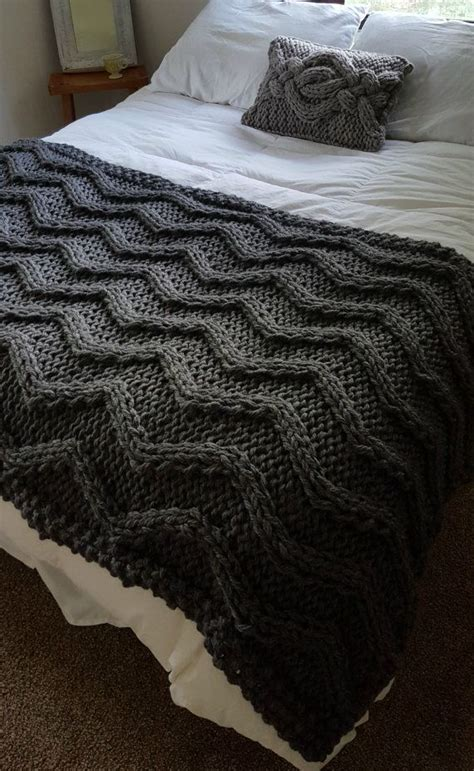 cable knit throw pattern free chevron cable knit blanket pattern crochet and knit