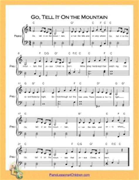 printable lyrics to go tell it on the mountain go tell it on the mountain lyrics videos free sheet