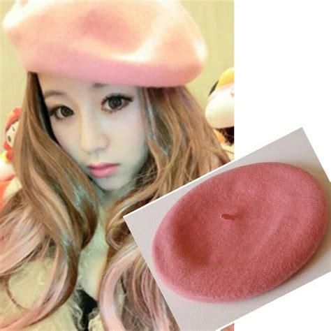Topi Korean jual topi baret korea kpop harajuku style devas