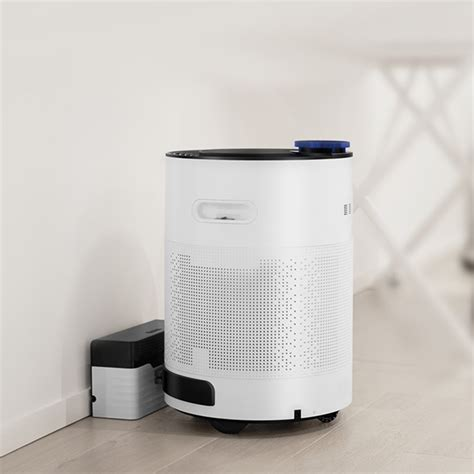 intelligent household air purifier automatic rechargeable robot air oxygen cleaner purifiers