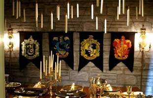 harry potter house decor harry potter party ideas