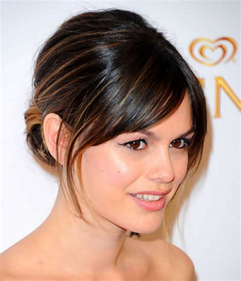 elegant hairstyles with bangs prom hairstyles with bangs