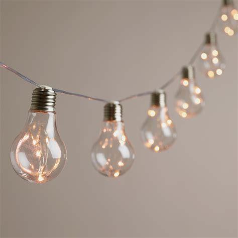 LED Light Bulb String Lights   Shelmerdine Garden Center
