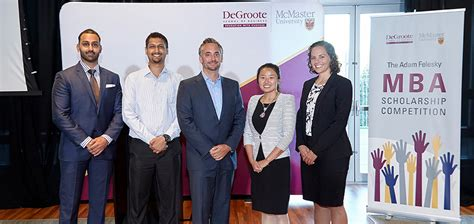 Mcmasters Mba by Degroote S Support Network Helps The School Transform