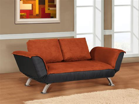 orange sofa and loveseat handy living ellie orange linen