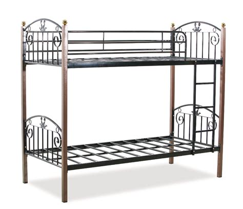 iron bunk beds metal steel double bed from langfang furniture trade co