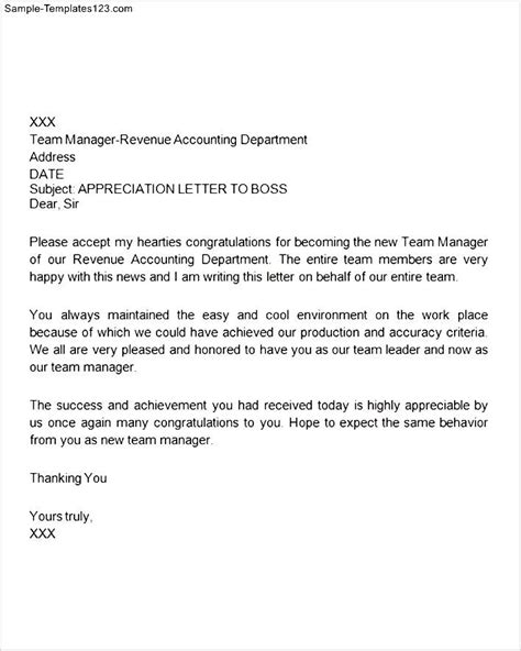 appreciation letter to for time thank you letter for appreciation for sle templates