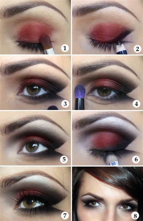 eyeliner tutorial for halloween makeup tutorial lady v black red prom make your prom