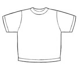 free coloring pages of blank t shirt