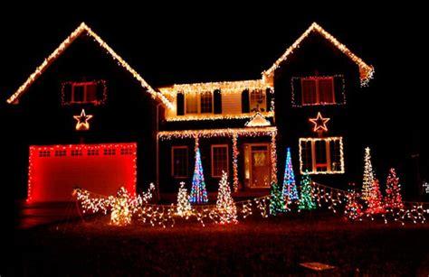 casas navide as frentes de casas con luces navide 241 as