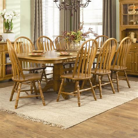 wood extending dining table shop furniture country oak wood extending dining