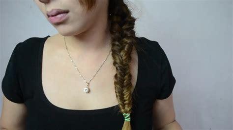 wikihow braid 3 ways to make a fishtail braid wikihow