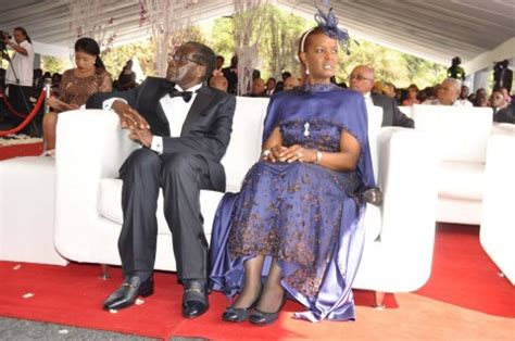 president sata and first lady at bona mugabes wedding in president sata and first lady at bona mugabe s wedding in