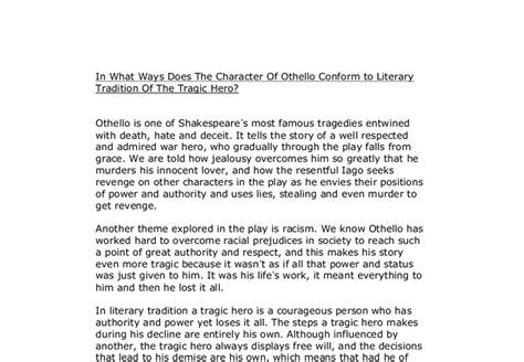Othello Tragedy Essay by Tragic Essay About Othello Copywriteropenings Web Fc2