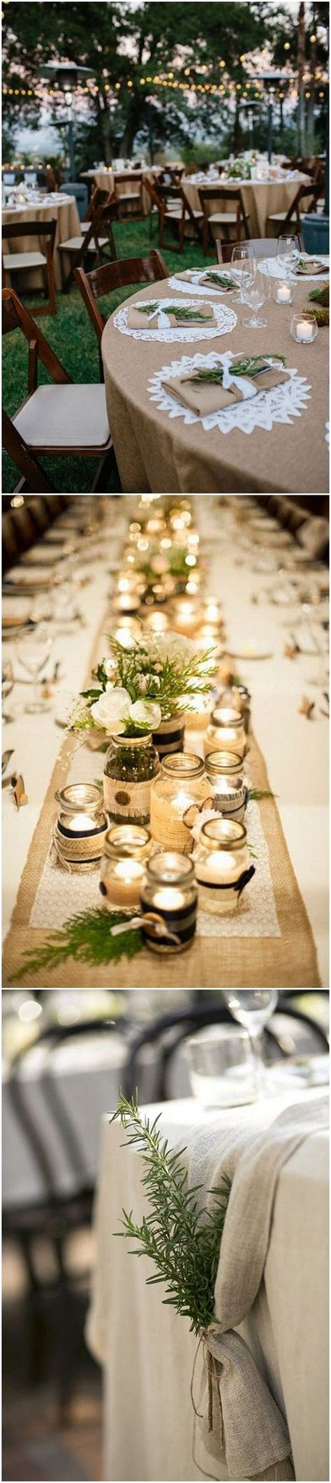 rustic table decorations 20 brilliant wedding table decoration ideas page 2 of 2