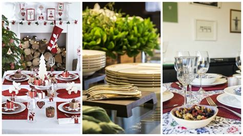 como decorar uma mesa para ceia de natal simples confira dicas e inspira 231 245 es para decorar a mesa para a