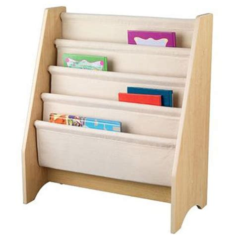 pastel sling bookshelf kid s room