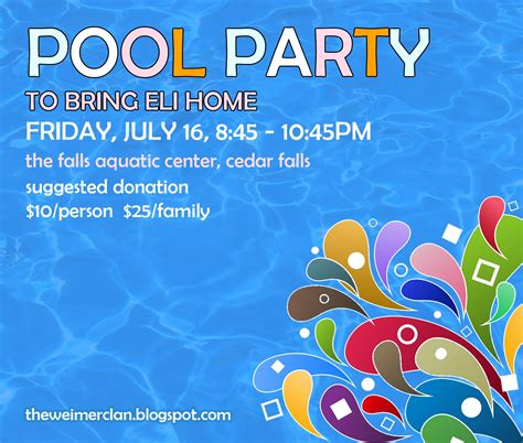 free pool flyer templates free pool flyer templates