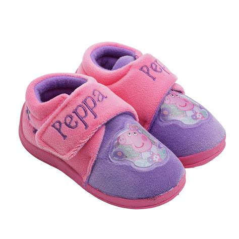 slippers argos peppa pig toddle slippers size 5 6865483 argos