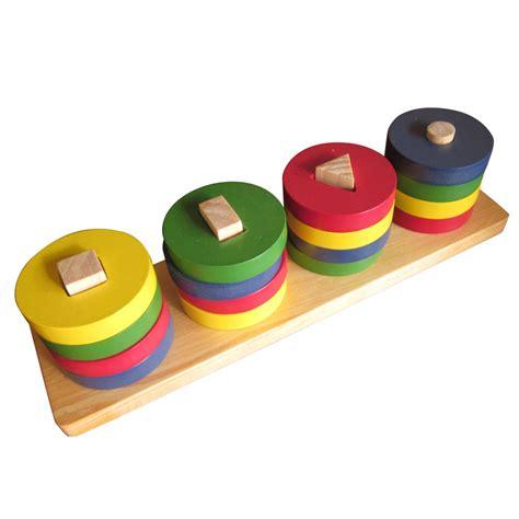 Mainan Bentuk mainan kayu bentuk dasar
