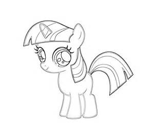 twilight sparkle coloring page my pony coloring pages to print colorings net