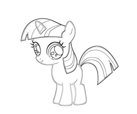 Twilight Sparkle Coloring Pages My Pony Coloring Pages Twilight Sparkle With Wings