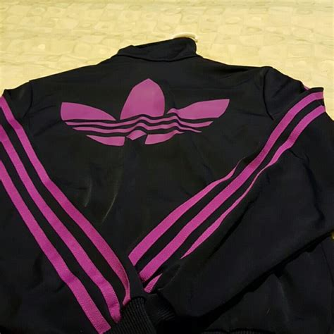 Jaket Adidas Firebirds Purple Pink 49 adidas jackets blazers authentic black and
