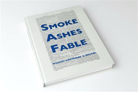 william kentridge smoke ashes fable books smoke ashes fable william kentridge de monsterkamer