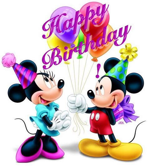 mickey mouse happy birthday images happy birthday mickey and minnie happy birthday