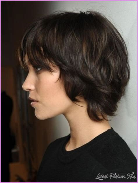 Cute Hairstyles Brown Hair | cute short black hair haircuts latestfashiontips com